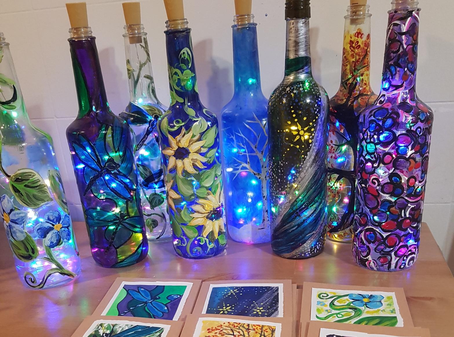 Bottles of De-Light
